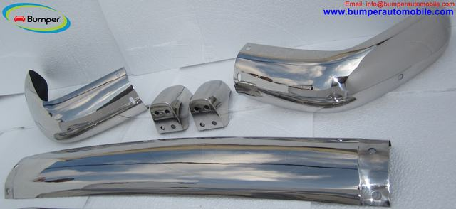 Volvo Amazon Kombi (1962-1969) Front + Rear Bumper Complete Kit